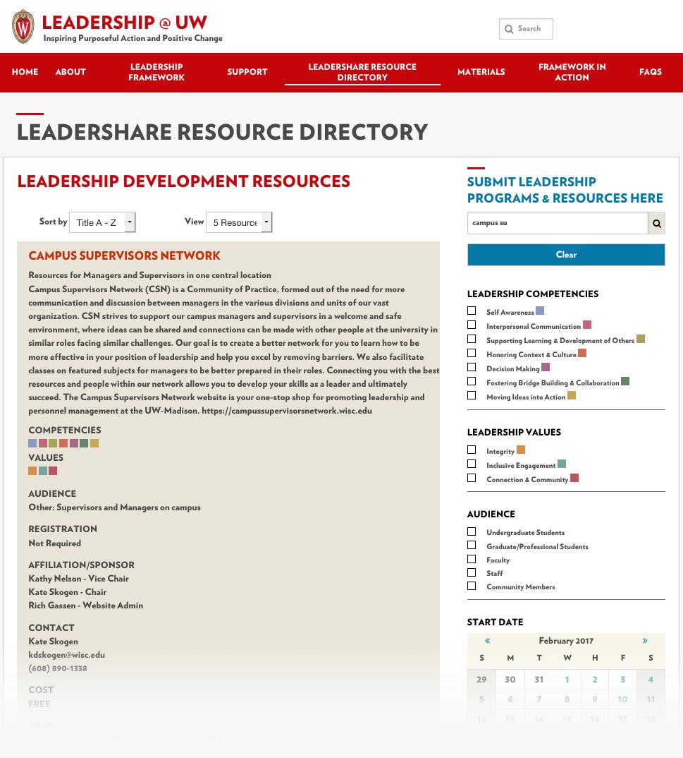 Leadershare website screenshot
