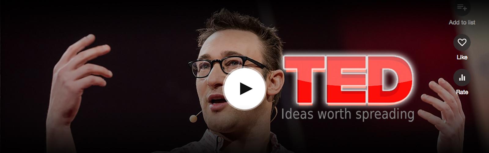 Simon Sinek TED Talk Image
