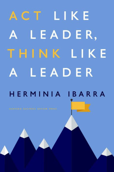 Act like a leader book cover art