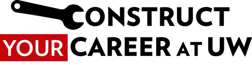 Construct your career at UW logo