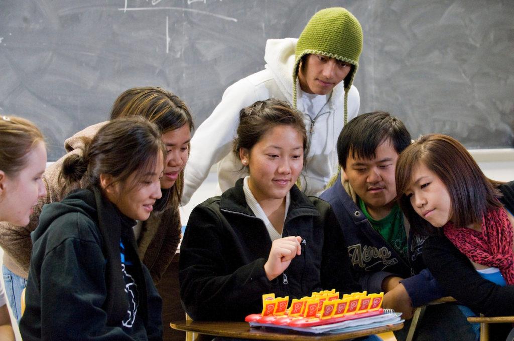 Hmong students