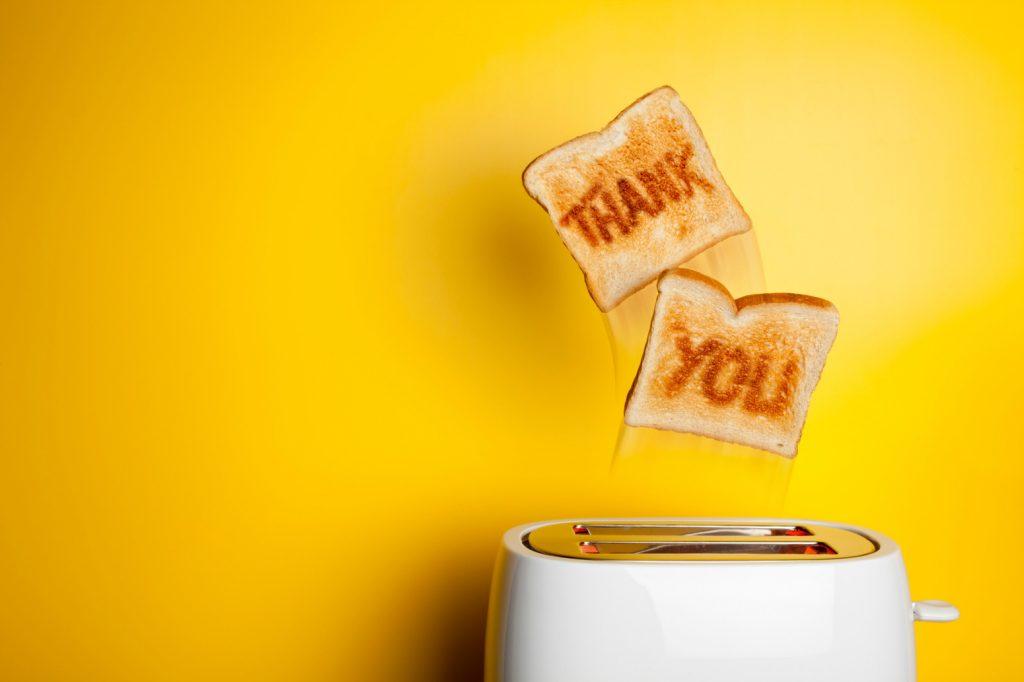 Thank you Toast